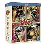 Reel Heroes Box Set (Region Free Blu-ray): Scott Pilgrim vs The World + Wanted + Hellboy II + Kick-Ass