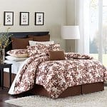 8-Piece Avenue 8 Autumn Leaf Comforter Set (Twin, Full, Queen, or King)