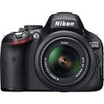 Nikon D5100 16.2MP Digital SLR Camera w/ 18-55mm AF-S DX VR Lens (Refurbished)