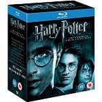 Harry Potter: The Complete 8-Film Collection (Region Free Blu-ray)