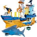 Matchbox Mega Rig Shark Ship Set