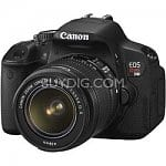 Canon EOS Digital Rebel T4i 18MP SLR Camera w/ 18-55mm Lens + 55-250mm IS Lens + Canon PIXMA Pro 9500 Printer