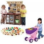 Step2 Ultimate Play Kitchen Value Bundle $50, Step2 Custom Kitchen & Accessory Bundle