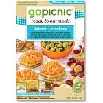 6-pack of GoPicnic Ready-to-Eat Meals: Salmon & Crackers or Gold Star Variety Pack