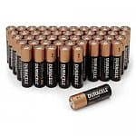 Duracell Battery Sale: 100-Pack AA or AAA Coppertop Alkaline Batteries $24 & More + Free Shipping (new customers)