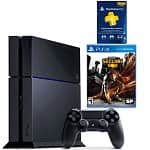 Sony PlayStation 4 + $100 Dell eGift Card + InFAMOUS: Second Son + 3mth PS Plus