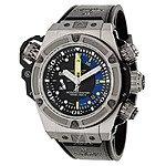Hublot King Power Oceanographique Titanium Automatic Chronograph + Diving Watch $8895 + free shipping