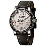 Graham Automatic Watch Sale: Graham Silverstone Mens' Automatic GMT Watch $1252 & More + Free Shipping