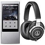 64GB Astell & Kern AK Jr. Hi-Res  Music Player + Audio Technica ATH-M70x Monitor Headphones $499 + free shipping