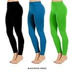 4-Pack Women's Seamless Leggings (various colors) $12 + Free Shipping