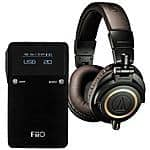 Audio-Technica ATH-M50xDG (Limited Edition Green) + FiiO E17K Amp/Dac $219 + free shipping