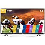"65"" LG 65UF6800 4K UHD Smart LED HDTV $1300 + free shipping"