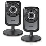 2-Pack D-Link Wireless Day/Night Wi-Fi Network Security Cameras  $70 w/ VISA Checkout + Free S&H