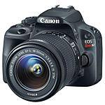 Canon SL1 DSLR Bundle: 18-55mm Lens, 75-300mm Lens, Pro-100 Printer, Bag, Paper $449 after $350 rebate + free shipping
