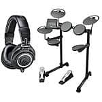 Yamaha DTX400K Electronic Drums + Audio-Technica m50x Headphones $500 + free shipping
