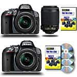 Nikon D5300 SLR Camera w/ 18-55 VR Lens $499 or 18-55 VR + 55-200 VR Lens $599 + free shipping (new)