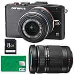 Olympus E-PL6 Camera + 14-42mm II & 40-150mm Lenses + 8GB SD Card + $80 VISA Gift Card  $399 + Free Shipping