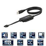 "Sabrent USB 2.0 TO SATA/IDE 2.5"" Hard Drive Converter w/ Power Supply $9 @ Amazon"