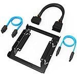Sabrent 3.5-Inch to x2 SSD / 2.5-Inch Internal Hard Drive Mounting Kit w/ SATA and Power Cables $10 @ Amazon