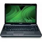 "Toshiba Satellite L645D-S4106 Notebook: AMD Phenom II N660 (3.0 GHz), 14"" LED LCD (1366x768), 4GB DDR3, 640GB HDD, Blu-ray, ATI Mobility 4250, 6-Cell Battery, Win 7 Prem 64-Bit"