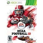 NCAA Football 12 + $20 Amazon Credit: Xbox 360 $57, PS3