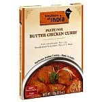 6-Pack of 3.5oz Kitchens of India Paste for Butter Chicken Curry