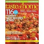 Cooking Magazine Sale: Taste Of Home $4/year, Every day with Rachel Ray $5/year, Bon Appetit $5/year, Vegetarian Times