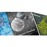 "20 5""x7"" Holiday Folded Cards"