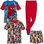 2x Spider-Man Pajamas Sets for Boys