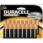 16-count Duracell Coppertop Alkaline Batteries (AA or AAA)