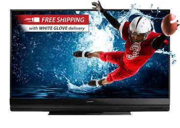 "Mitsubishi 82"" 3D DLP HDTV 1080p 120Hz $1,399. or less w/FS & No s/t for most states @ Paul's TV"