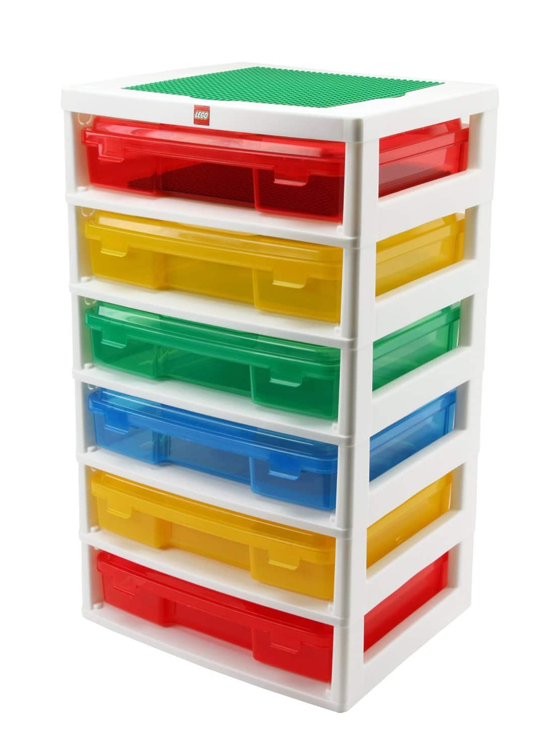 LEGO Iris 6-Case Workstation & Storage Unit W/ 2 Base Plates $38.99 Free Shipping w/Amazon Prime