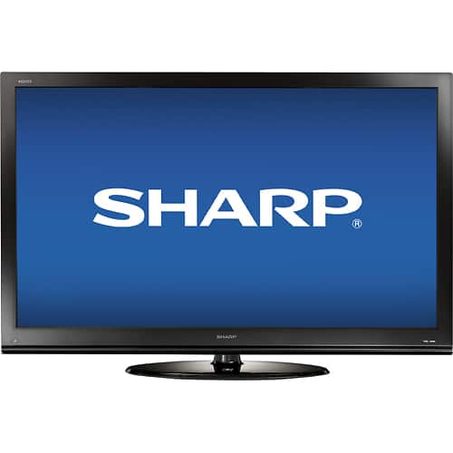 "60"" Sharp Aquos LC60E69U 1080p 120Hz LCD HDTV $688 + Free In-Store Pickup"