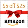 Amazon: $5 off $25 Promotional Credit  (Facebook Required)