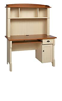 Christopher Lowell Shore Mini Solutions Computer Desk With Hutch $80 + Free store pick-up