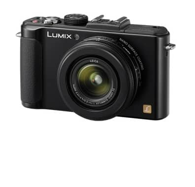 Panasonic LUMIX DMC-LX7 10MP Digital Camera w/ 24mm F1.4 Lens & 1080p Video $289 + Free shipping