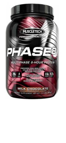 8.8lbs MuscleTech Phase 8 Protein Power (Strawberry & Vanilla) $45 + Free shipping