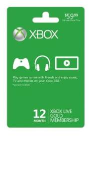 Rakuten (Buy.com) Coupons: $15 off $50+ for Computers, Electronics, Software, Office, & More (New Customers Only): 2x 12-Month Xbox Live Gold Membership Cards $55 + Free Shipping