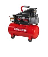3-Gallon Craftsman Horizontal Air Compressor with Hose and Accessory Kit $72 + Free In-Store Pick Up