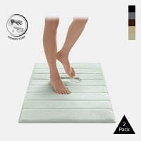 Tanga Deal: 2-Pack Memory Foam Bath Mats (20