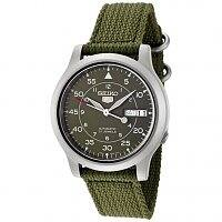 Rakuten Deal: Seiko 5 Men's Automatic Watch with Black Canvas Strap $37 + free shipping (new customers)