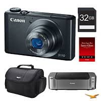 BuyDig Deal: Canon PowerShot S110 12.1MP Digital Camera + 16GB Card + Pixma Pro-100 Printer