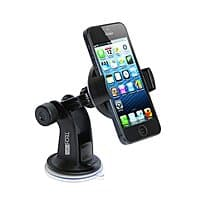 Amazon Deal: TechMatte ProGrip 360 Degree Car Mount Cradle for Smartphones