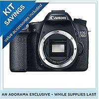 Adorama Deal: *back* Canon 70D DSLR Camera (Body Only) + Pixma Pro-100 Printer + Bag + 32GB SDHC $799 after $350 Rebate + Free Shipping
