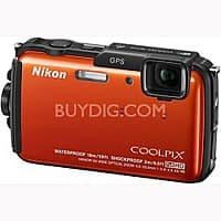BuyDig Deal: Nikon AW110 1080p WiFi Waterproof Digital Camera (Refurb) + Adobe Lightroom 5 $149 + free shipping