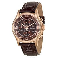 Ashford Deal: Bulova Men's Rose Gold Plated Chronograph Watch