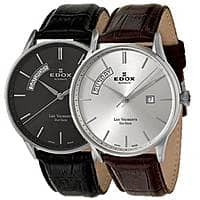 Ashford Deal: Edox Men's Les Vauberts Day Date Automatic Watch