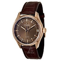 Ashford Deal: Zenith Men's El Primero Espada 18K Gold 36,000 VPH Automatic Watch $6195 + Free shipping
