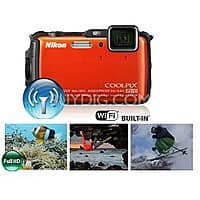 BuyDig Deal: Nikon AW120 1080p Waterproof Digtal Camera (Refurb) + Adobe Lightroom 5 $199 + Free Shipping