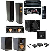 Acoustic Sound Design Deal: Klipsch Home Theater Systems: RF-82II 7.2 $3449, RF-62II 5.2 $1499, RB-41II 5.1